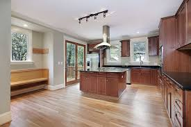 what color wood floor looks with cherry cabinets 43 kitchens with extensive wood throughout home