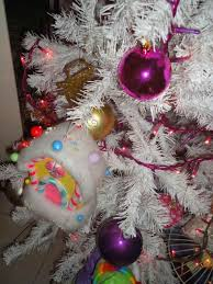 tree with purple and pink decorations architecture u interior