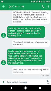Thou Shall Craigslist by Having Fun With Craigslist Scammers Album On Imgur