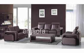 perfect modern sofa sets at sweet deluxe black leather sofa set
