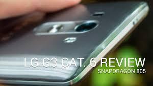 lg g3 cat 6 snapdragon 805 video walkthrough youtube