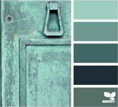 home page teal colors and color palettes