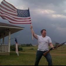 American Flag Meme - american flag shotgun guy youtube