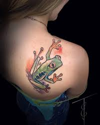 frog tattoos for girls u2014 fitfru style