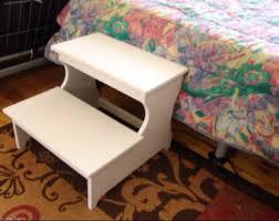 bedside step stool etsy