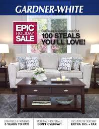 gardner white furniture ads