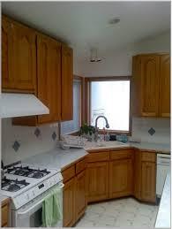 Corner Sink Powder Room Kitchen White Galley Kitchen With Black Appliances Powder Room