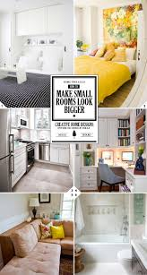 how to make a small room look bigger creative design ideas and