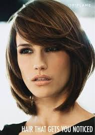 sliced layered chin lengt bob with bangs layered bob with long side swept bangs when i decide to cut my hair