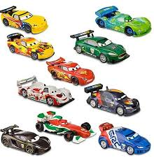 amazon disney pixar cars 2 movie exclusive pvc 10pack