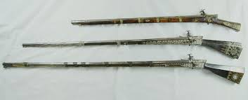 Ottoman Weapons Ethnographic Arms Armour Ottoman Balkan Miquelet Muskets