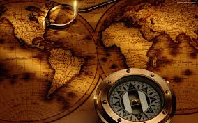 Old World Map Old World Map Compass Timekeeperwatches