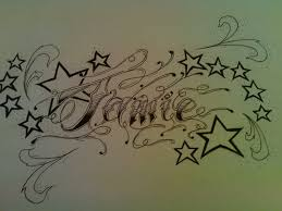 tatto designs with peoples names name by tattoojamie on