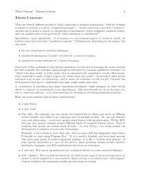 thesis proposal template 8 free word pdf document downloads