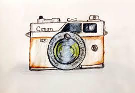 vintage camera sketch draw8 info