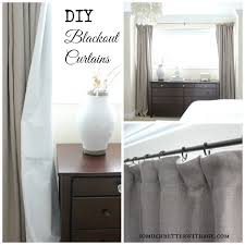 Making Blackout Curtains The 25 Best Diy Blackout Curtains Ideas On Pinterest Easy