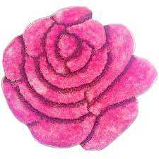 Round Pink Rugs by Round Flower Rug Roselawnlutheran