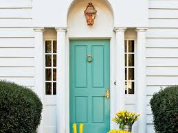 painting your front door the easy way the diy village 5 tips for painting your front door southern living
