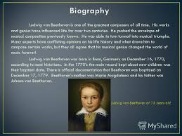 biography of beethoven ludwig van beethoven biography essay college paper academic service