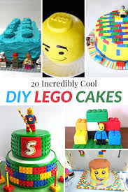 cake diy 20 incredibly cool diy lego cakes moment