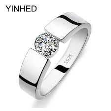 rings for men yinhed wedding rings for men and women real 925 sterling silver