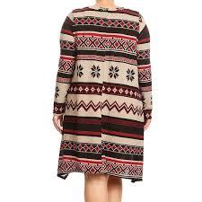 abstract pattern sleeveless dress women s plus size aztec abstract pattern tunic dress free shipping