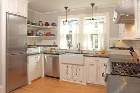 Craftsman Kitchen Cabinets Seattle Craftsman Kitchen Cabinets With White Subway Tile Back