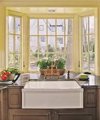 gorgeous bay window in kitchen and 25 kitchen window seat ideas