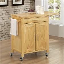 Mobile Kitchen Island Butcher Block Kitchen Cart With Trash Bin Kitchen Furniture Elegant Kitchen