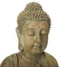 Home Decor Buddha Statue Alpine Buddha Water Fountain Hayneedle