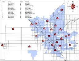 Colorado House District Map by Fire Department Station Locations