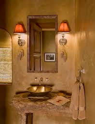rustic bathroom design ideas tips u0026 ideas pinecone ornaments and sconce lighting in rustic