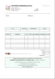 invoice example english download free template for word saneme