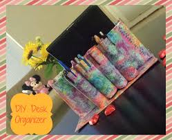 How To Make Desk Organizers by A Kaleidoscopic Dream Diy Desk Organizer