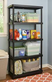 Keter Storage Shelves Keter Plastic 5 Tier Shelf 16