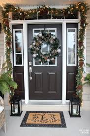 Christmas Home Decor by Christmas Home Tour With Country Living Setting For Four