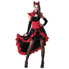 totally ghoul gothic devil woman u0027s halloween costume
