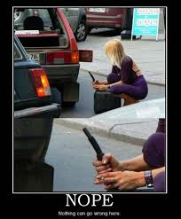 Gas Station Meme - funny fail smoking lady at gas station pics bajiroo com