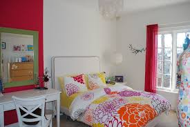 best simple of beautiful room decoration for teenage girls adorable red white paint accent wall colors schemes bedroom for teenage girl with beautiful red rod
