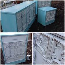 White Distressed Bedroom Set by Beach Style Distressed Shabby Chic Pale Blue Wood Mirror The