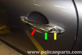 Exterior Car Door Handle Repair Mini Cooper R56 Door Handle Replacement 2007 2011 Pelican