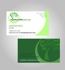 Easy Business Card Design Business Card Design For Msr Consulting Cents By Julius Reque
