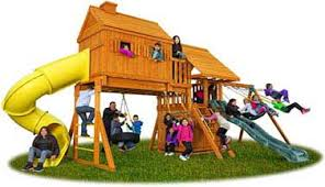 Wood Backyard Playsets by Swing Sets Swings Wooden Playsets U0026 Jungle Gyms Eastern Jungle Gym
