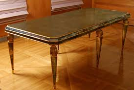 mirrored rectangle dining table with sanctuary rectangular