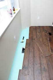 Laminated Wooden Flooring Our Modern Homestead Diy Laminate Wood Flooring Project