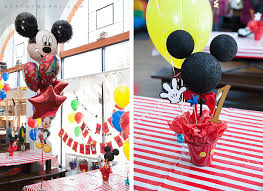 mickey mouse 1st birthday mickey mouse themed 1st birthday party los angeles birthday party