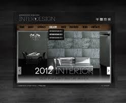 Websites For Interior Designers by Interior Design Html5 Gallery Website Template Best Website