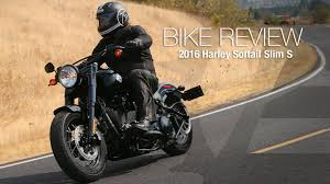 2016 harley davidson softail slim s review motousa youtube