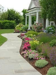 Sidewalk Garden Ideas Impressive Walkway Garden Ideas 17 Best Ideas About Front Walkway