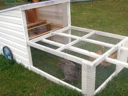 Easy Backyard Chicken Coop Plans by Wonderful Diy Recycled Chicken Coops